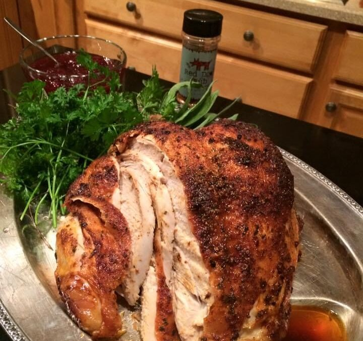 Perfect Grilled or Roasted Turkey