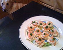 Winner's Circle Shrimp Rounds – Appetizer
