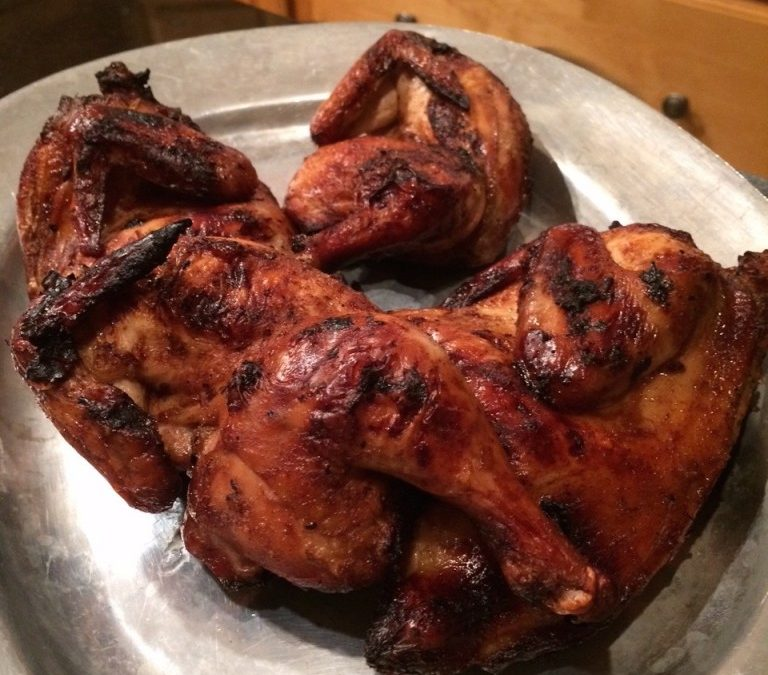 Molasses Grilled Cornish Game Hens