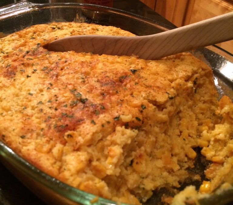 Suzi's Sweet Corn Pudding