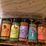 Heart Smart – gift set of 5, salt-free and sugar-free blends