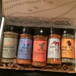 Hunt, Fish and Cook – gift set of 5 blends to compliment what they bring home