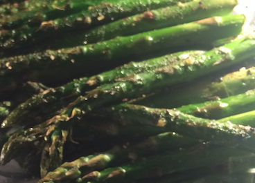 Grilled or Roasted Rowdy Asparagus