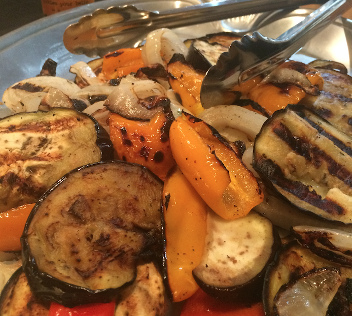 Summer Harvest Grilled Veggies