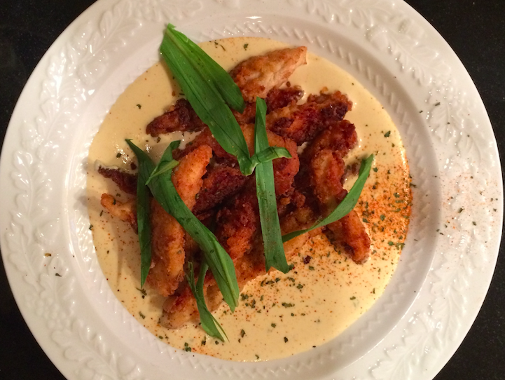 Crispy Cumin Chicken in Cumin Cream Sauce
