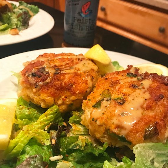Simply Delicious Crab Cakes – serves 4