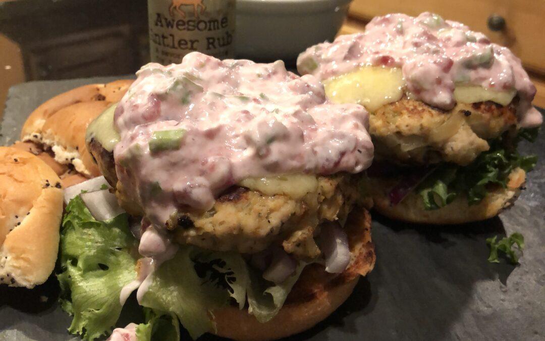 Terrific Turkey Burgers – serves 4