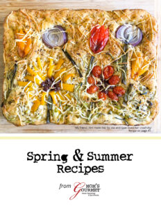 Spring & Summer Recipe Cookbook from Mom's Gourmet