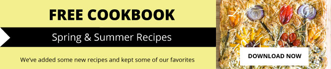Free Cookbook with Spring and Summer Recipes